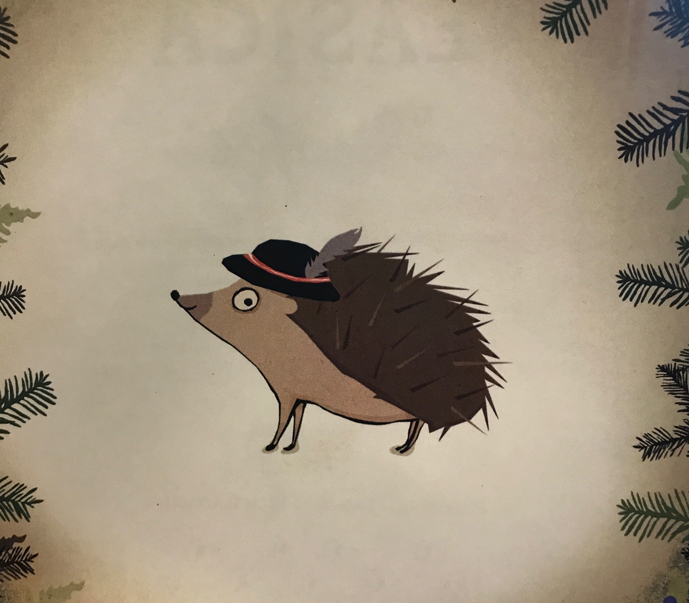 Hedgehog with Goralski Hat