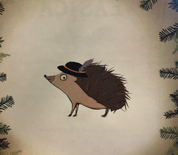 Hedgehog with Goralski Hat