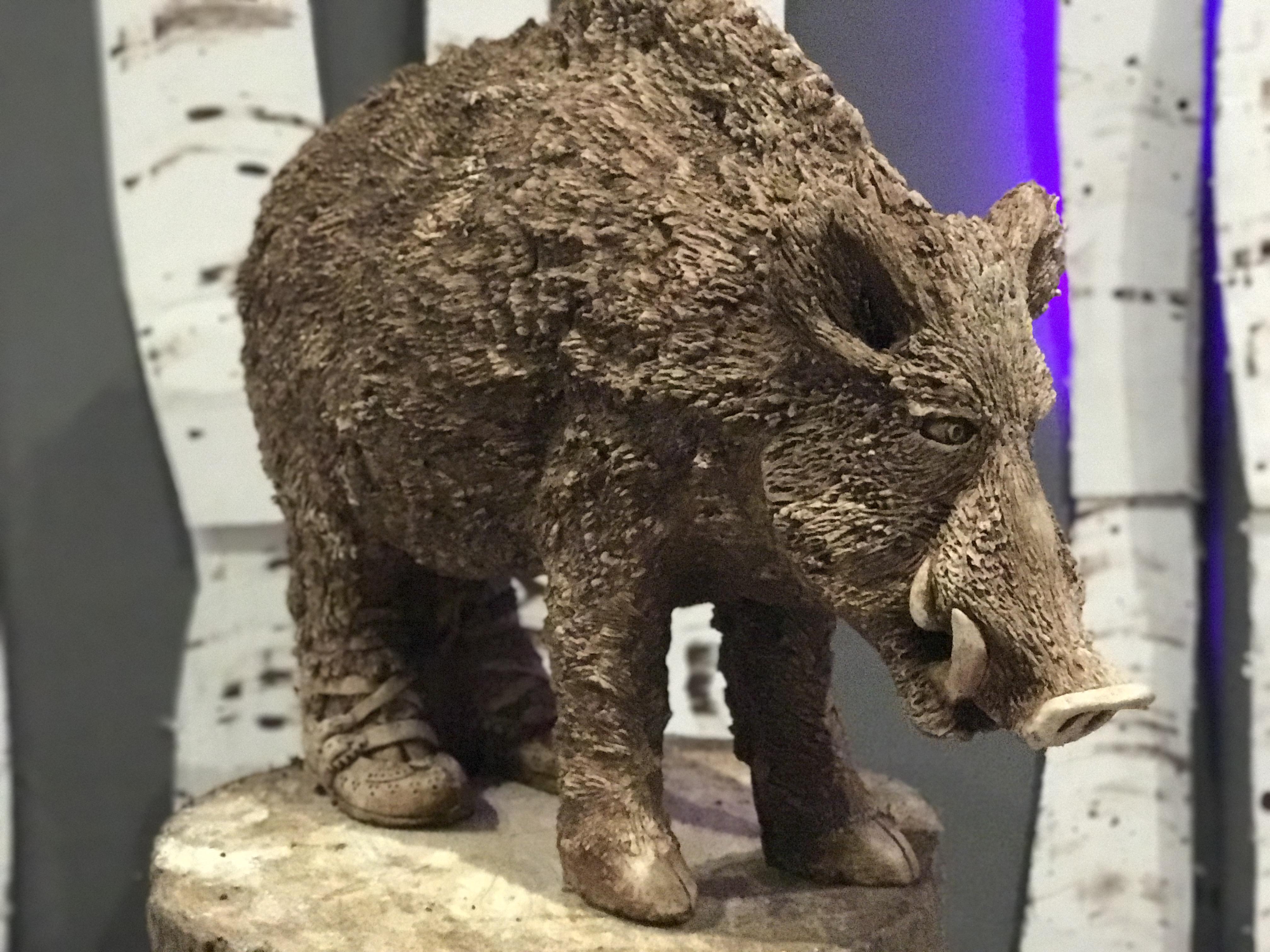 Wild Boar/Highlander Moccasins - Dzi