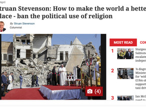Struan Stevenson writes about BPUR International