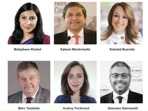 6 new members including 4 Legislative Sponsors