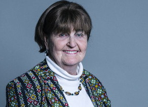 Welcoming Baroness Cox to our Legislative Sponsors
