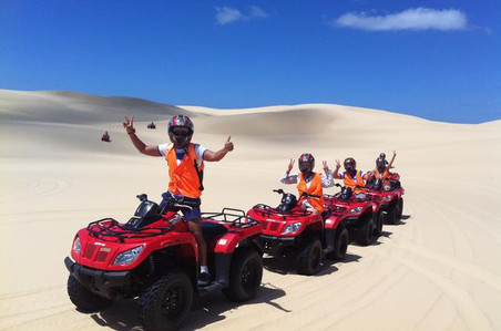 Port Stephes Sand Dunes Quad Bike Tour