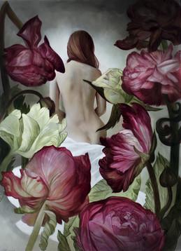 """Lukas Johannes Aigner, """"Durch die Blumen gemalt"""""""