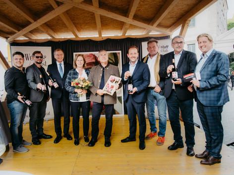 Am Donnerstag 2. September wurde der Linzer Wein des Jahres 2021 bekannt gegeben