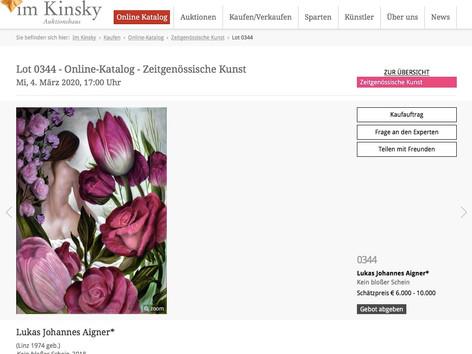 Auktion im Kinsky