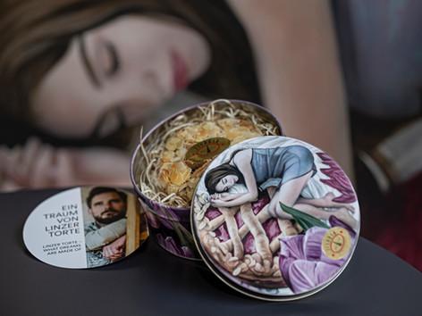 Traumhafte Verpackung für die Linzer Torte (Text:Linz-Tourismus)