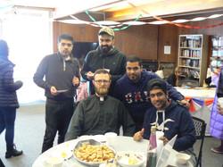 Pastor Ulledalen with Saudis
