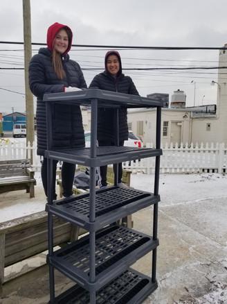Camp Restore Shelve Construction