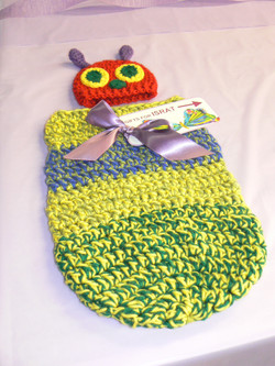 caterpillar baby outfit