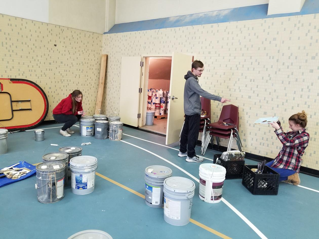 Camp Restore Paint Organization