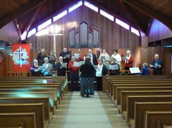 One last choir practice.