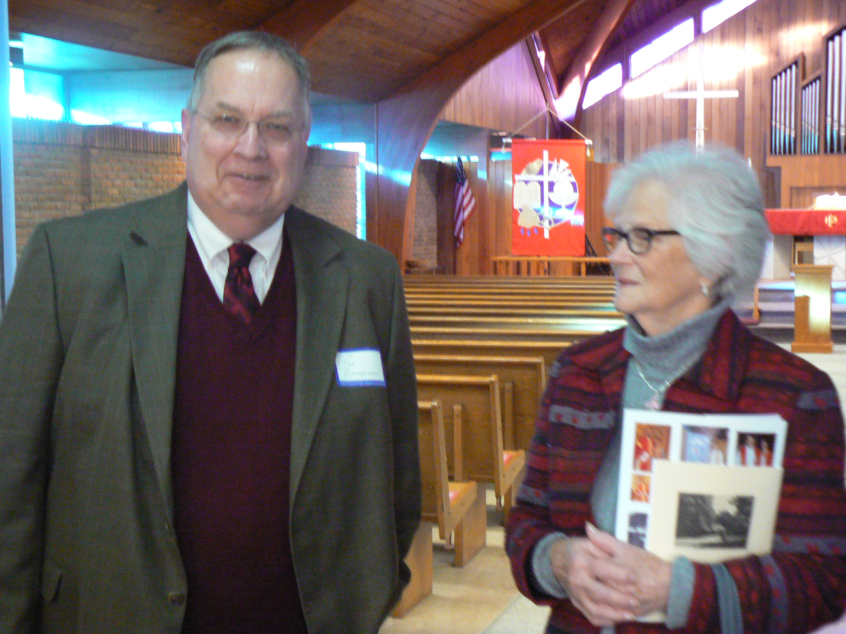 Rev. Tom Zimmerman and Adella Bergey