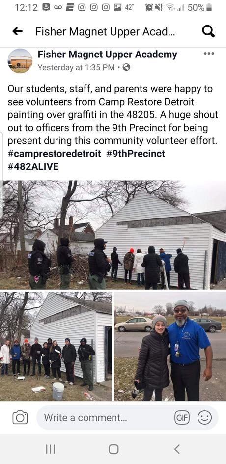Camp Restore School Appreciation Post