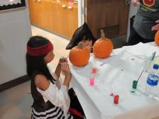 painting a pumpkin 3