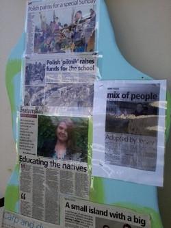 Artykuły w Jersey Evening Post / our School in JEP