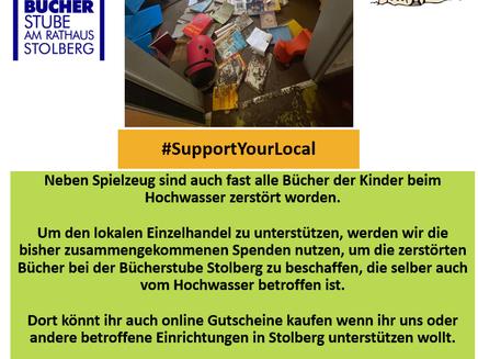 #Support Your Local - Bücherstube Stolberg