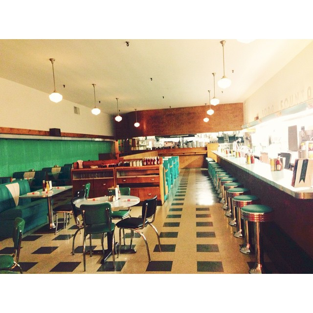 Instagram - The cutest diner I ever did see.jpg