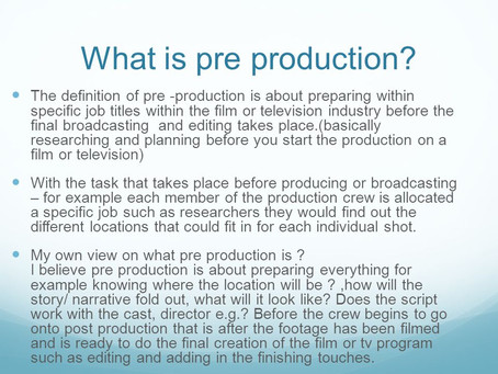 9 Tips checklist for creating a 2D Pre – Production
