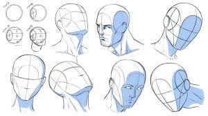 Designing 7 Heads of Character Drawings