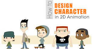 How to draw 2D characters
