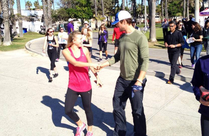 The Lylas and Josh Duhamel lead hundreds of runners in the PUMA Relief Run For The Philippines