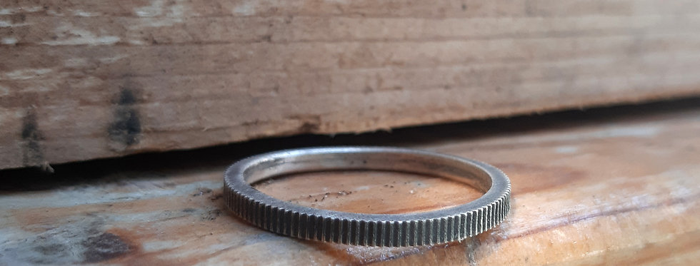 Eser Silver Ring