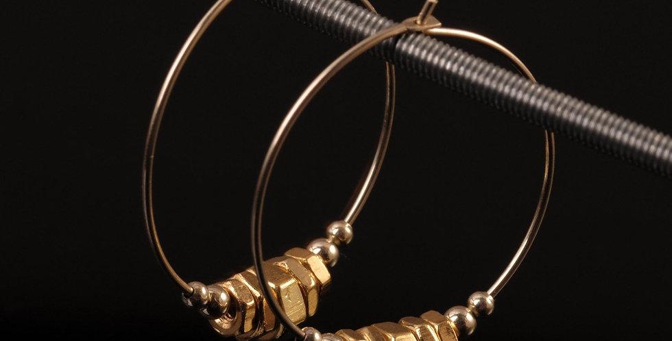 Golden Hoops L
