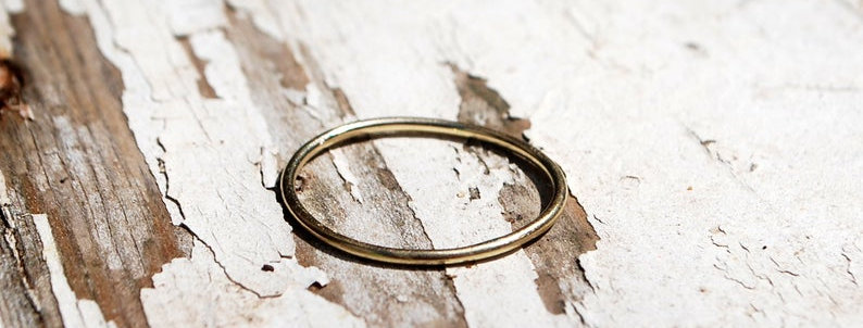 Wire Gold Ring