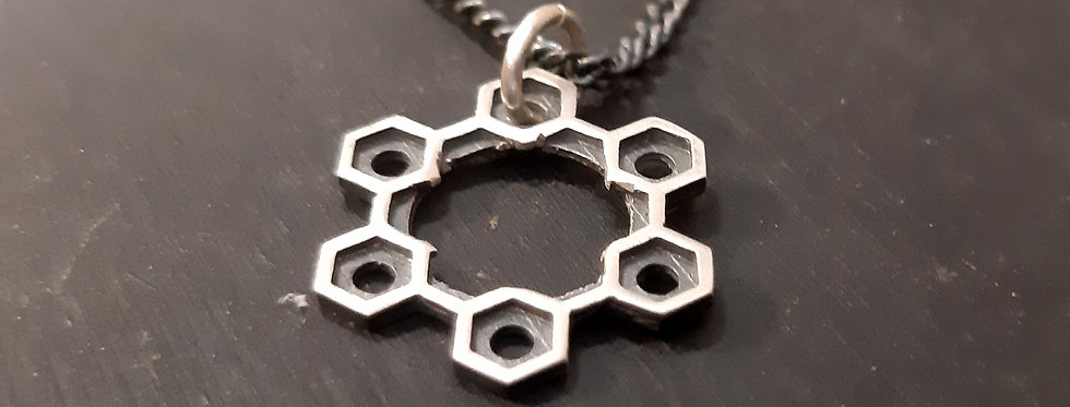 Open Hexagons Star
