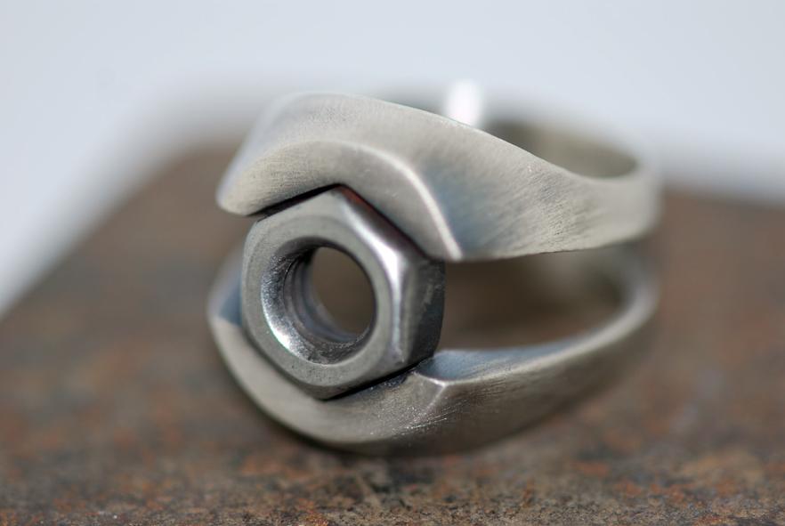Open Nut S Ring