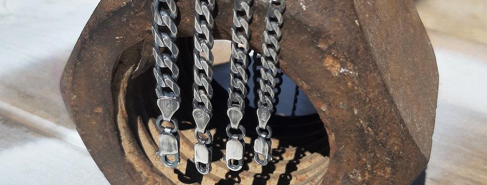 Curb Links Bracelet-4.5mm