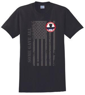 MENS HOF Tshirt - Vertical Flag Design