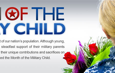 DOD Salutes Children During Military Child Month