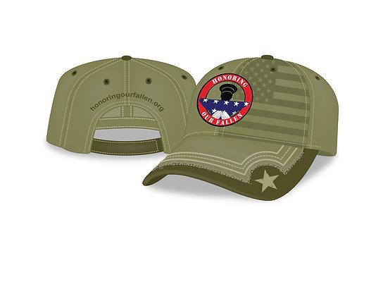 Green HOF Baseball Style Cap - Mil.Green
