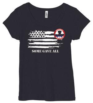 LADIES HOF Tshirt - Horizontal Flag Design