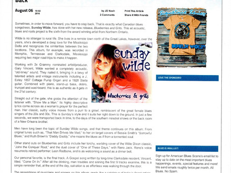 American Blues Scene Review of Blueberries & Grits