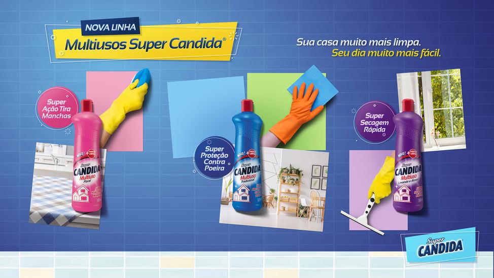 SUPER CANDIDA | Multiuso