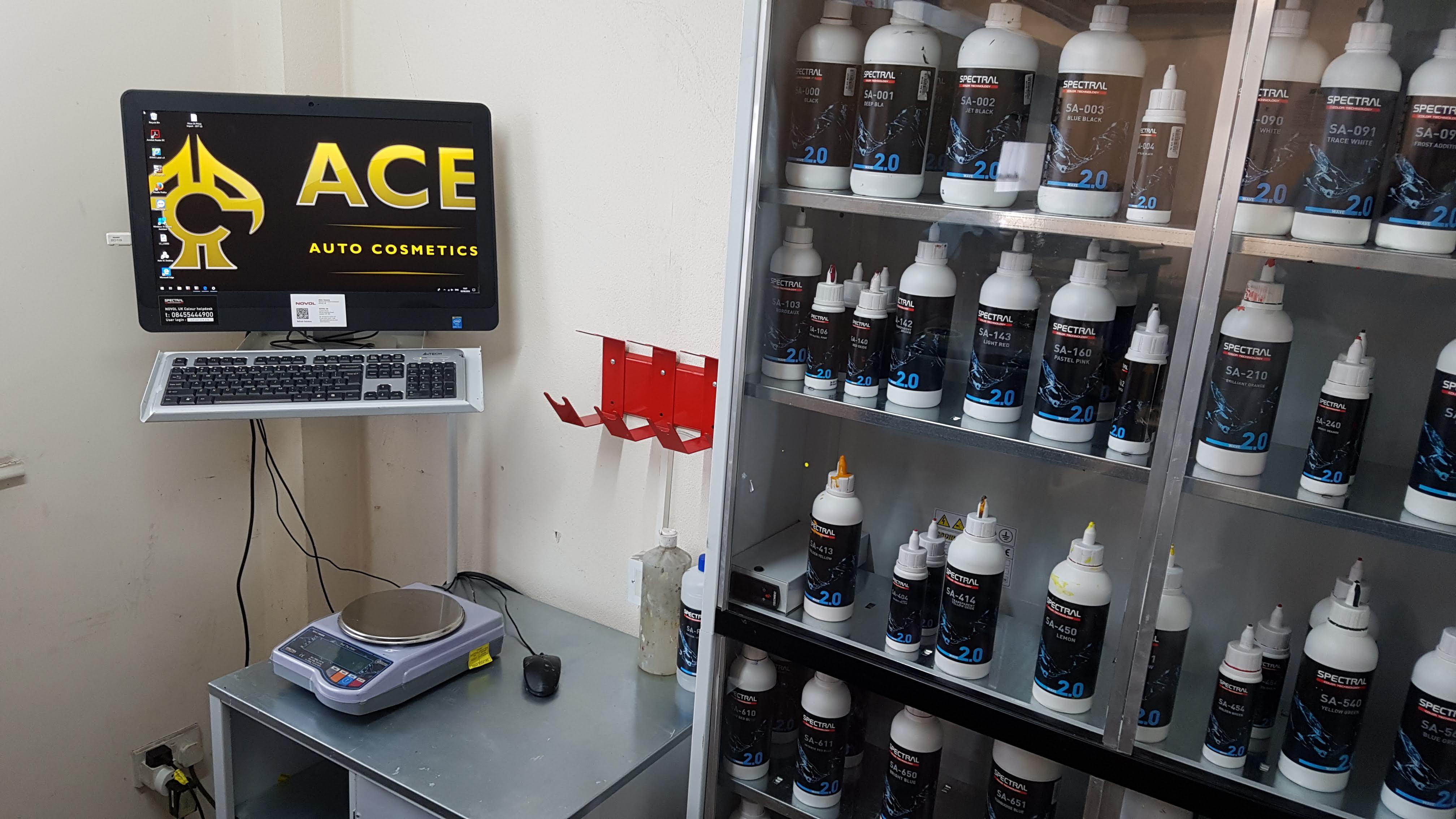 Ace Auto Cosmetics paint room