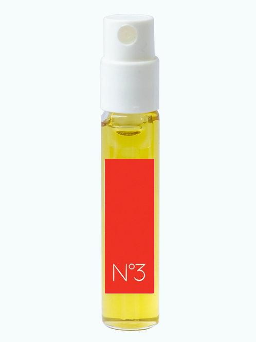 Extrait de couleur n°3 ROUGE, flacon pompe 2 ml