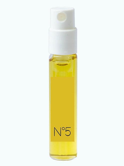 Extrait de couleur n°5 OR, flacon pompe 2 ml