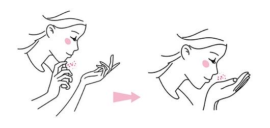 Utilisation des parfums de couleur