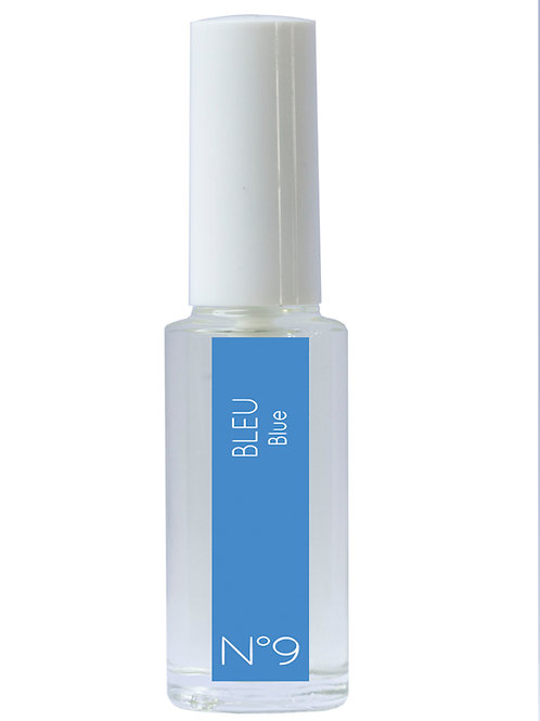 Eau de couleur n°9 BLEU, format voyage 15 ml