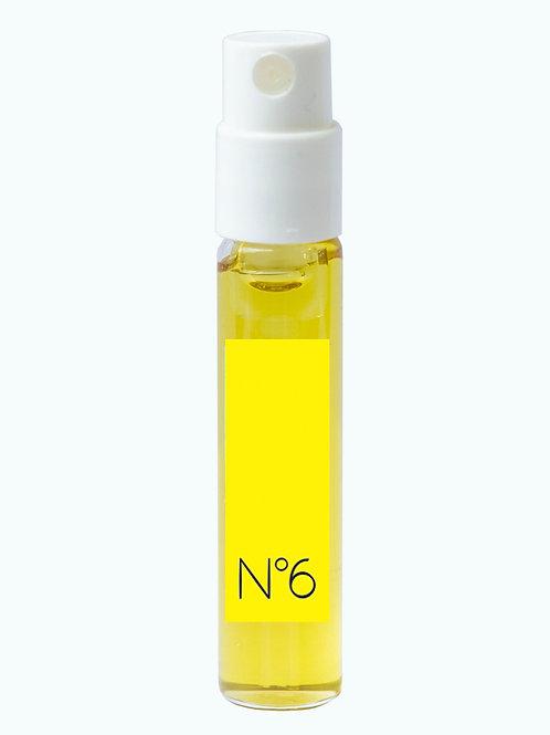Extrait de couleur n°6 JAUNE, flacon pompe 2 ml