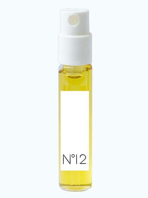 Extrait de couleur n°12 BLANC, flacon pompe 2 ml
