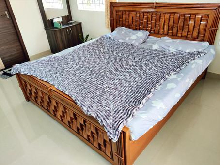 Glenda Granny Square Blanket