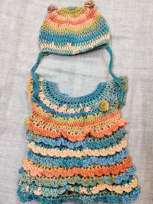 Bohemian Girl Baby Dress