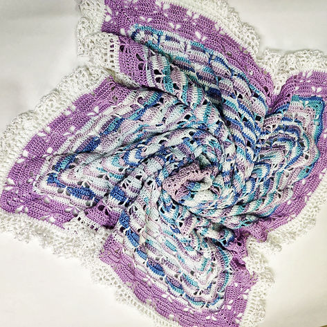 Butterfly Sleet Baby Blanket