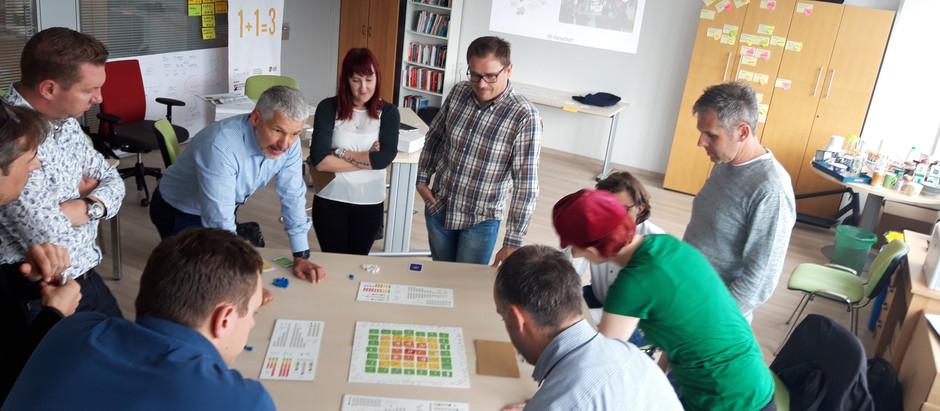 KorpoProgram: utrinki iz delavnice Playing lean