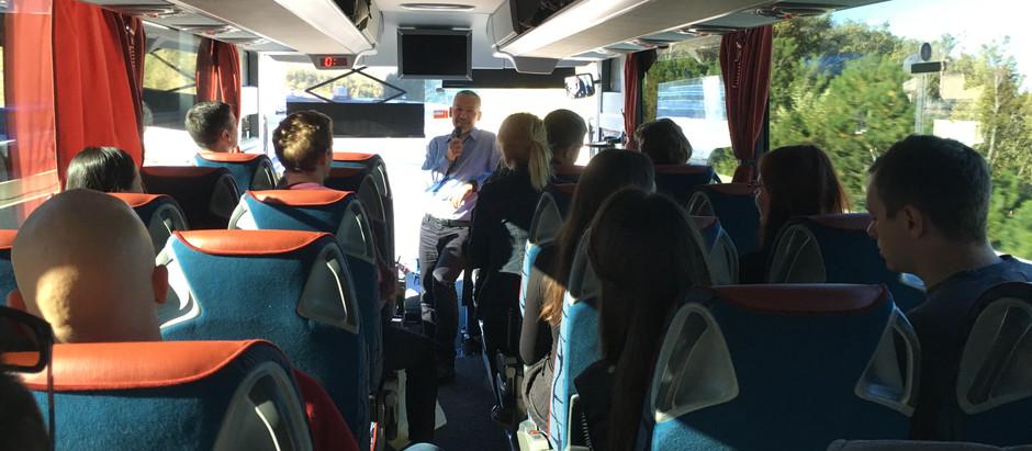Foto in video utrinki strokovne ekskurzije v Trst